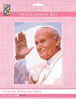 Pope John Paul  Tapestry Kit By Grafitec