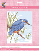 King Fisher  Tapestry Kit By Grafitec