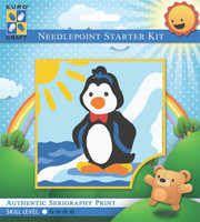 Dancing Penguin  Tapestry Kit By Grafitec