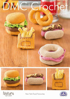 New York Food Favourites  Crochet Pattern Leaflet  By DMC
