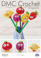 Fruit Pen Toppers  Crochet Pattern Leaflet  By DMC