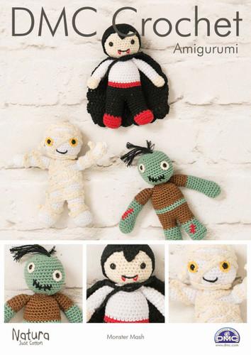 Monster Mash Crochet Pattern Leaflet  By DMC