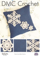 Festive Snowflake Cushion  Crochet Pattern by DMC