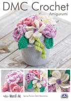 Spring Flowers Table Decoration  Crochet Pattern by DMC