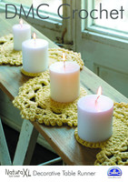 Decorative Table Runner  Crochet Pattern by DMC