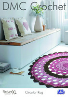 Circular Rug Crochet Pattern by DMC
