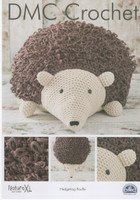 Hedgehog Pouffe  Crochet Pattern by DMC