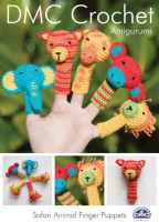 Safari Animal Finger Puppets Crochet Pattern By DMC