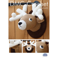 Stag in DMC Petra Crochet Cotton Perle No. 3 Crochet Pattern By DMC