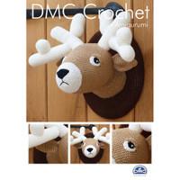 Stag in DMC Petra Crochet Cotton Perle No. 3 Crochet Pattern By DMC