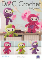 Little Lady Ninja's  Crochet Pattern By DMC