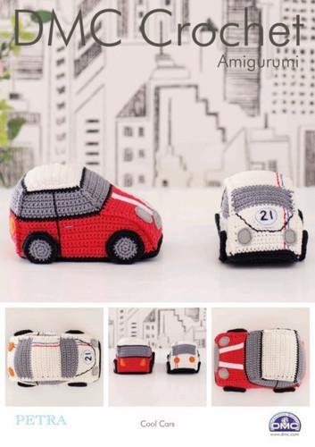 Cool Cars Crochet Pattern By DMC