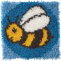 Bumblebee Latch Hook Kit By Wonderart