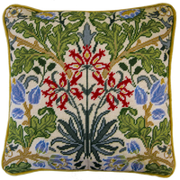 William Morris: Hyacinth 12HPI Full Colour Printed Tapestry Kit