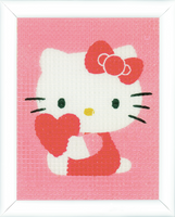 Hello Kitty: With Heart apestry Kit By Vervaco