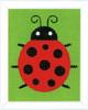 Ladybug  Long Stitch Kit By Vervaco