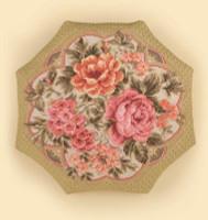 Evening Garden Cushion Cross Stitch Kit By Riolis