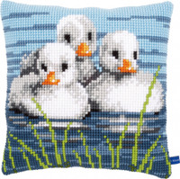 Three Ducklings Chunky Cross Stitch Kit By Vervaco