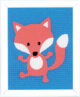 Fox Childrens Starter Cross Stitch Kit By Vervaco
