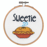 Stitch Wits Sweetie Pie Cross Stitch Kit by Dimensions