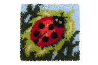 Ladybird Latch Hook Rug  By Grafitec