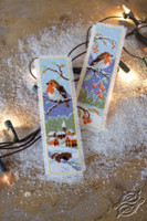 Bookmark: Robins (Set of 2) Counted Cross Stitch By Vervaco