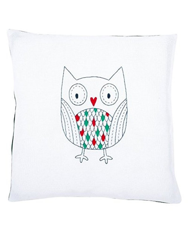 Embroidery: Cushion: Owl Kit Be Vervaco