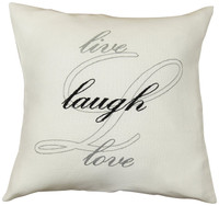 Anette Eriksson Live Laugh Love Premium Cushion Kit