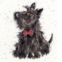Scottie Dog Cross Stitch Kit By Bothy Threads