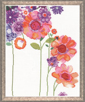 Watercolour Garden  Cross Stitch Kit By Design Works