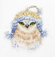 The Owl  Cross Stitch Kit By Luca S