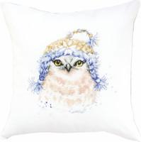 Owl Pillow  Cross Stitch Kit By Luca S