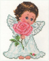 Angel of Love Cross Stitch Kit by Alisa