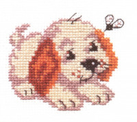 Bim Cross Stitch Kit by Alisa