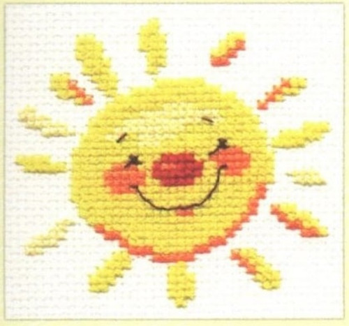 Sun Cross Stitch Kit by Alisa