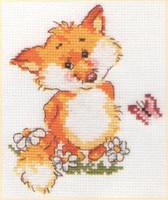 Little Fox Cross Stitch Kit by Alisa