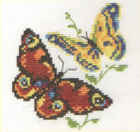 Beautiful Butterflies Cross Stitch Kit by Alisa