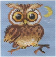 Little Owl Cross Stitch Kit by Alisa