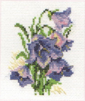 Bluebells Cross Stitch Kit by Alisa