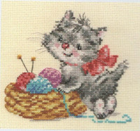 Baby Needlewoman Cross Stitch Kit by Alisa
