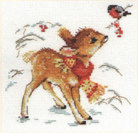 Little Deer Cross Stitch Kit by Alisa