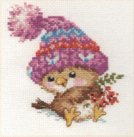 Little Sparrow Cross Stitch Kit by Alisa
