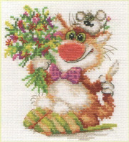 We hasten to congratulate Cross Stitch Kit by Alisa