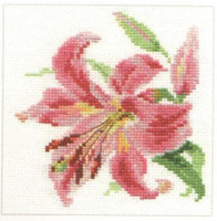 Lily Cross Stitch Kit by Alisa