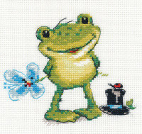 Kva-a Cross Stitch Kit by Alisa