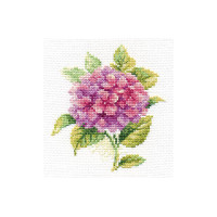 Hydrangea Cross Stitch Kit by Alisa