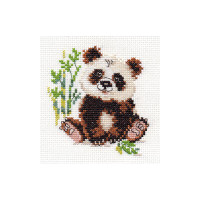 Panda Cross Stitch Kit by Alisa