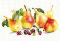 Pears Cross Stitch Kit by Alisa