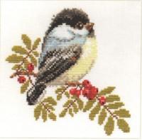 Chickadee Cross Stitch Kit by Alisa