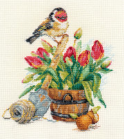 Spring Time Cross Stitch Kit by Alisa